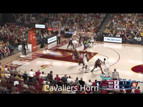 NBA 2K14, Arena Horns, Central Division