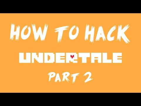 How to Hack Undertale - Getting rid of the annoying dog and finding W.D. Gaster