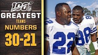 100 Greatest Teams: Numbers 30-21 | NFL 100