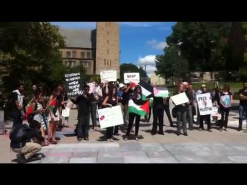 Cornell Review - Students for Justice in Palestine Protest