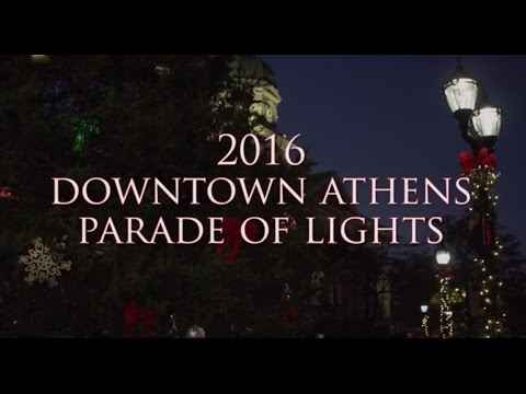 2016 Downtown Athens Parade of Lights