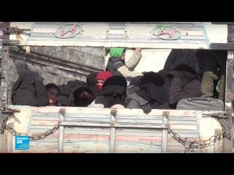 المئات يفرون من آخر نقاط سيطرة تنظيم -الدولة الإسلامية- في شرق سوريا  - 11:55-2019 / 2 / 12