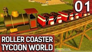 Roller Coaster Tycoon World BETA 1 #1 Wir bauen einen Freizeitpark