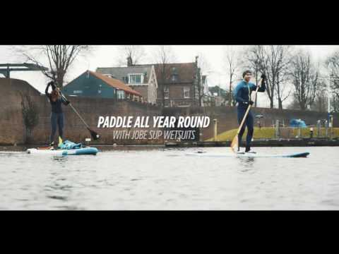 Paddle all year round - the Jobe SUP wetsuit winter collection.