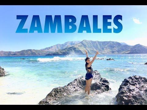 ANAWANGIN COVE,CAPONES,CAMARA ISLAND, ZAMBALES 2018 - Travel Vlog Philippines