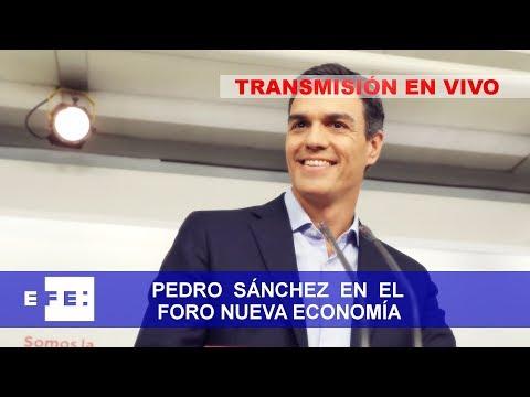 Pedro Sánchez participa en Nueva Economía Forum