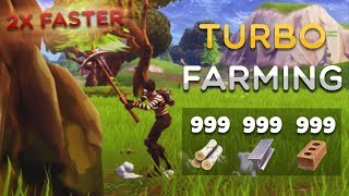 How to Turbo Farm Season 5 Fortnite Battle Royale (NEW METHOD) Fortnite Tips and Tricks