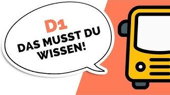 Busführerschein - Was darfst du mit D1 fahren? (Personenbeförderung)