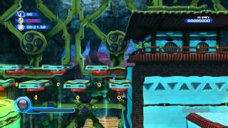[Wii] Sonic Colours (RUS) Прохождение / Walkthrough part 2