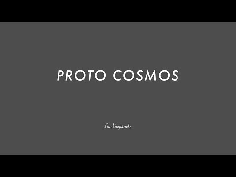 Proto Cosmos (solo chord progression) - Jam Backing Track Play Along Jazz Improvisation