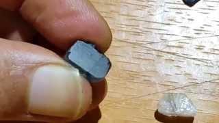 kyanite Safir Australia - ayo kita test gesek dengan quartz dan safir