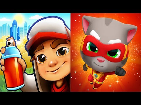 Subway Surfers 2019 Houston VS Talking Tom Hero Dash