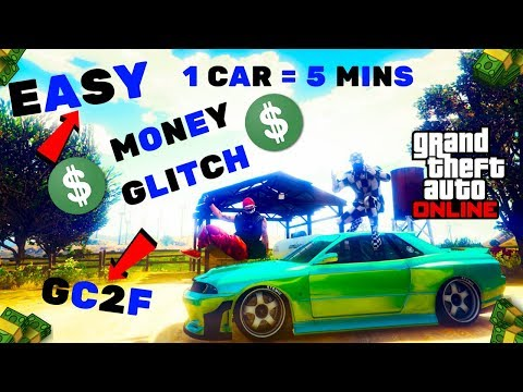 *EASY*GIVE CARS TO FRIENDS*UNLIMITED MONEY GLITCH*GC2F*MODDED CAR DUPLICATION GLITCH GTA 5 ONLINE