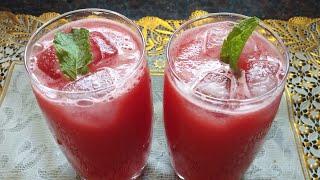 Refreshing Watermelon Juice | Ramzan Special Recipe | Ghare's kitchen