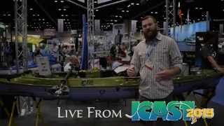 ICAST 2015 - New Paddle Clip and Anchor Trolly from Yakattack
