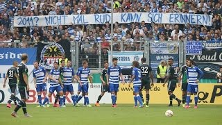Ärger um Fan-Plakat bei lockerem Schalke-Sieg in Duisburg