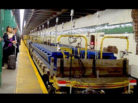⁴ᴷ Work Train passing through West 4th Street