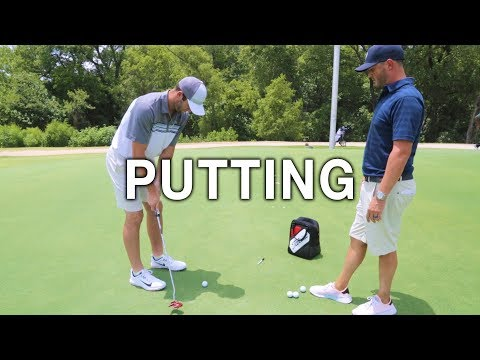MY FIRST PUTTING LESSON | Brodie Smith Golf