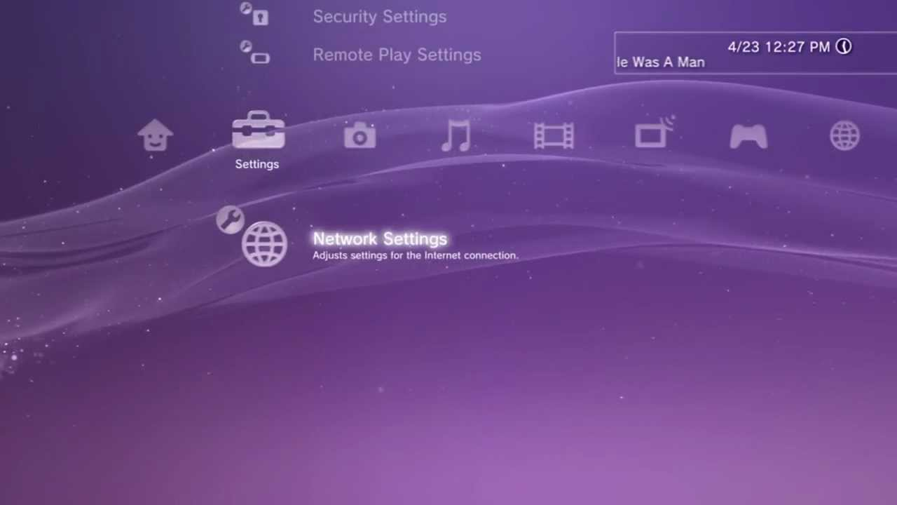 How To Setup And Connect The Internet To Your Ps3 Hd Youtube
