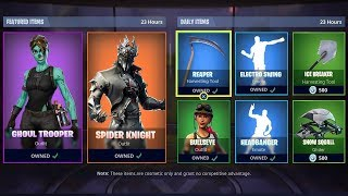 *NEW* FORTNITE ITEM SHOP COUNTDOWN! October 19th - New Skins! (Fortnite Battle Royale)