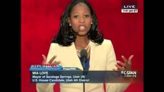 Mia Love - Speech At Republican National Convention