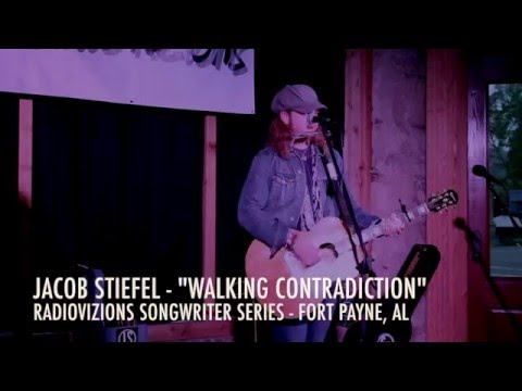 Jacob Stiefel - Walking Contradiction (Radiovizions Songwriter Series, Fort Payne, AL) - 4-21-2016