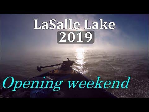 LaSalle Lake IL - 2019 Opening Weekend (03.16.2019) Blue Catfish