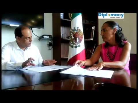 EXECLUSIVE INTERVIEW : H.E. MS MELBA PRIA, AMBASSADOR OF MEXICO TO INDIA