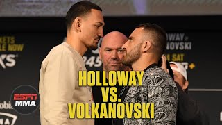 Max Holloway vs. Alexander Volkanovski Breakdown | UFC 245: Unlocking Victory | ESPN MMA