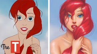 15 Disney Princesses Reimagined By Amazing Artists