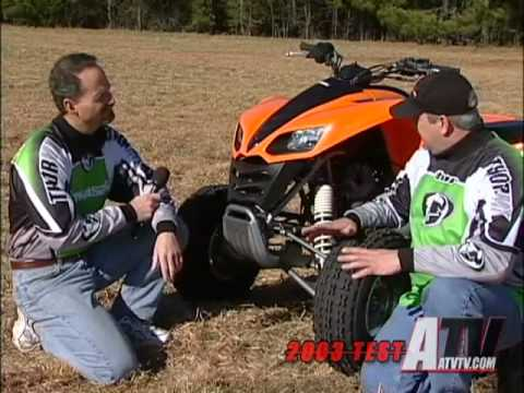 ATV Television - 2003 Kawasaki KFX700 Test