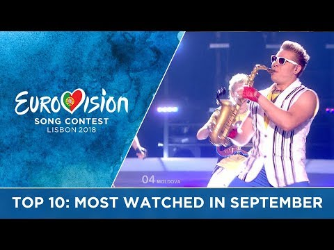 TOP 10: Most watched in September 2017 - Eurovision Song Contest