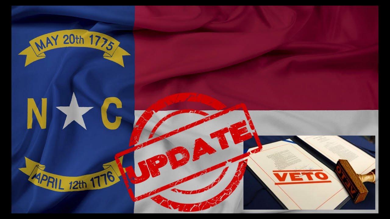 UPDATE: North Carolina Fails To Override Governor's 2A Veto