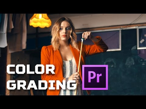 Premiere Pro Tutorial - How to COLOR GRADING