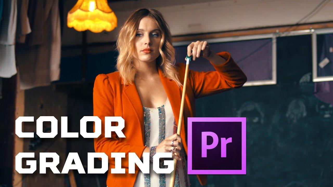 premiere pro how to change colours