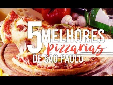 AS 5 MELHORES PIZZARIAS DE SÃO PAULO