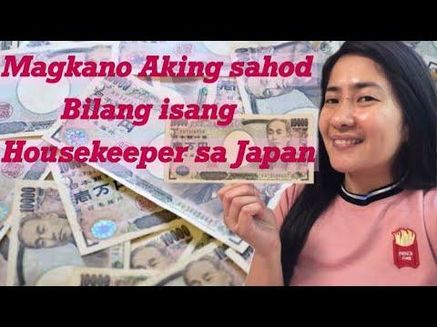 Magkano Aking Sahod Bilang Isang Housekeeper Sa Japan | Salary In Japan