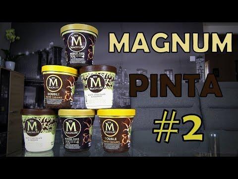 MAGNUM PINTA ICE CREAM CHALLENGE #2 - NOVÉ PŘÍCHUTĚ!! (+ recenze)