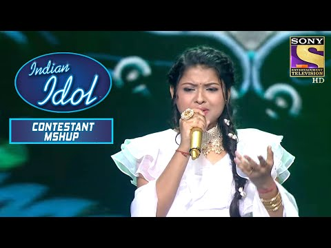 Arunita के इस Performance पे मिली उसे Standing Ovation | Indian Idol | Contestant Mashup