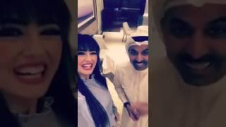 نيرمين محسن مع طارق العلي - صحيفة صدى الالكترونية