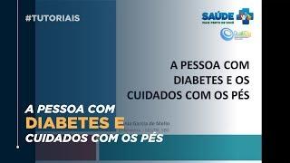 Nos diabetes danos pés por