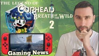 Un Zelda X Cuphead ?  Info Zelda 2, Images Witcher 3 Switch & Gaming News !