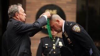 Mayor Bloomberg Honors 42 Members of the NYPD at Annual Medal Day Ceremony