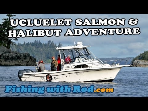 Fishing With Rod: Ucluelet Salmon & Halibut Adventure
