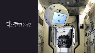 SpacePod: Artificial Intelligence Robot headed for ISS