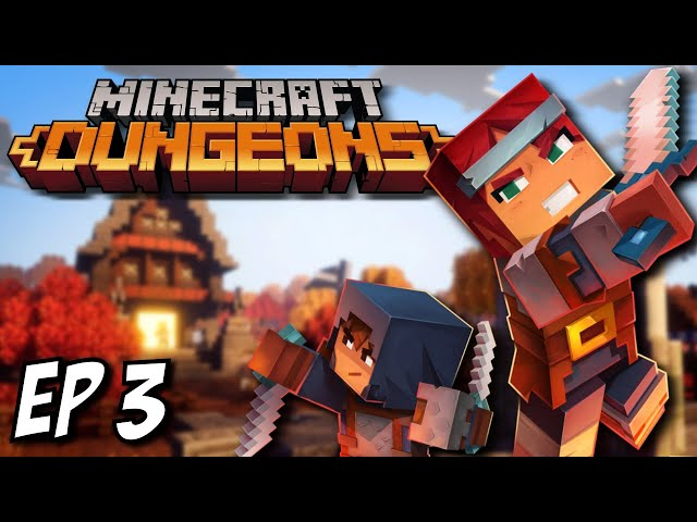 Minecraft Dungeons Ep 3 - I'm on a Boat!