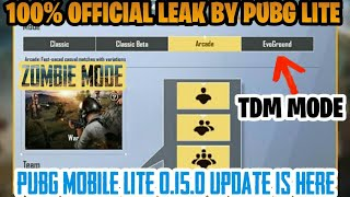 PUBG MOBILE LITE TDM MODE UPDATE AND GOOD NEWS || LITE GAMING ||