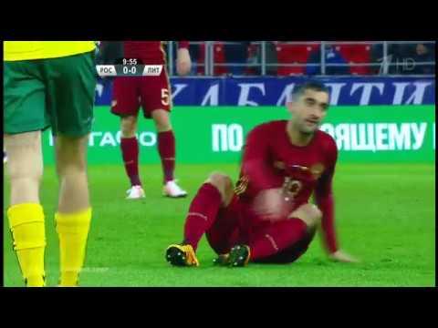 Rusija - Lietuva 3:0 | Maskva 2016 kovo 6d.