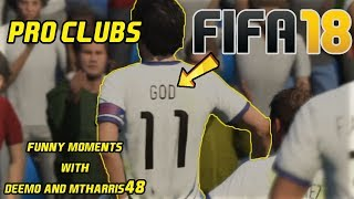 Fifa 18 Pro Clubs ft. God