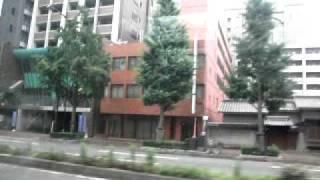 西鉄バス(6127土井Ⅰ:大濠公園→天神郵便局前)